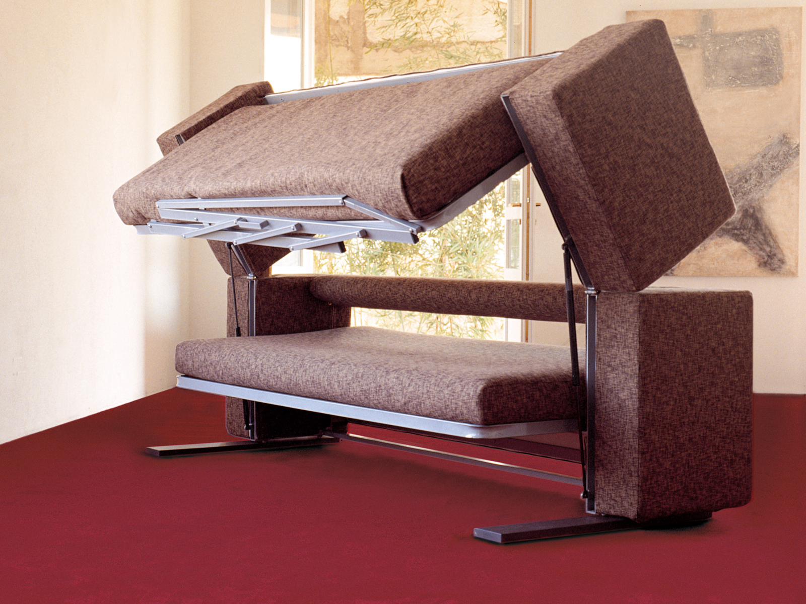 inspirational innovative multifunctional sofa by designer giulio manzoni