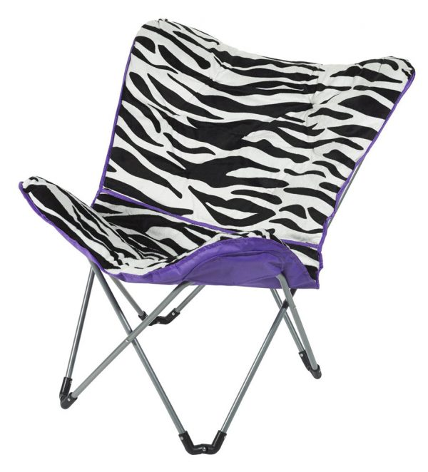 Purple Zebra Saucer Chair DesignInterior Design Ideas Medium