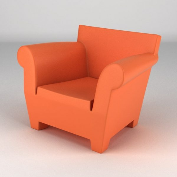 Simply Kartell Bubble Club Chair 3d Max Medium