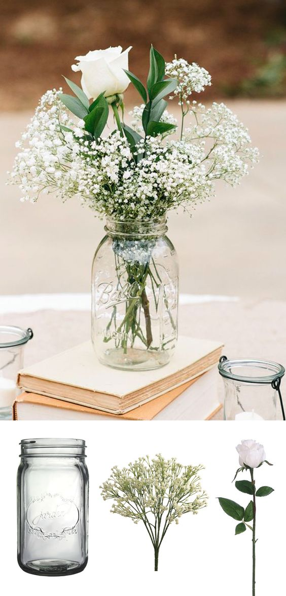 Clever Affordable Wedding Centerpieces Original Ideas Tips   Diys Medium