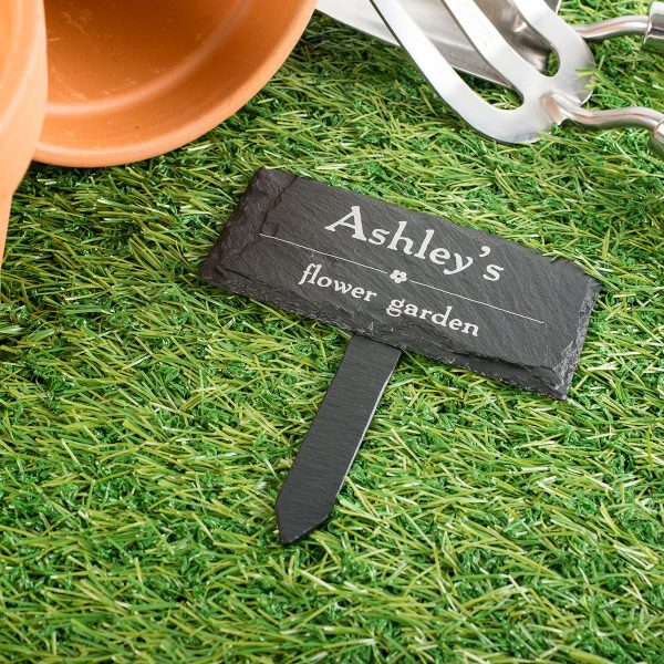 Explore Engraved Slate Plant Marker Gettingpersonalcouk Medium