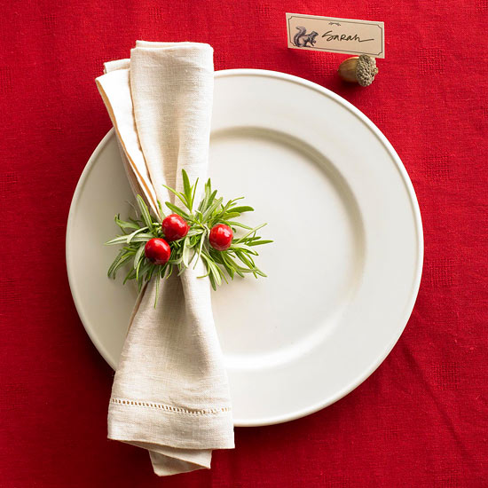 Fresh Easy Holiday Place Setting Ideas Medium