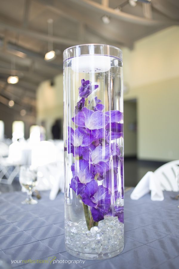 Get Gladiolas Submerged Flowers Purple Wedding Flowers Medium