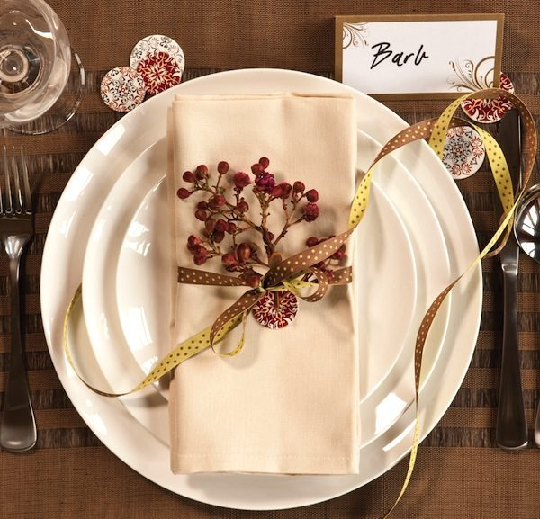 Inspiration Christmas Place Setting Ideas  Place Settings Pictures Medium