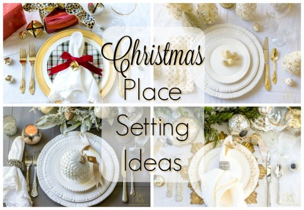 Inspirational Christmas Place Setting Ideas For The Perfect Christmas Table Medium