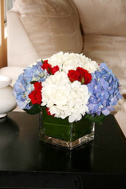 Our Favorite 12 Easy Patriotic Centerpiece Ideas  Cheap July 4th Medium