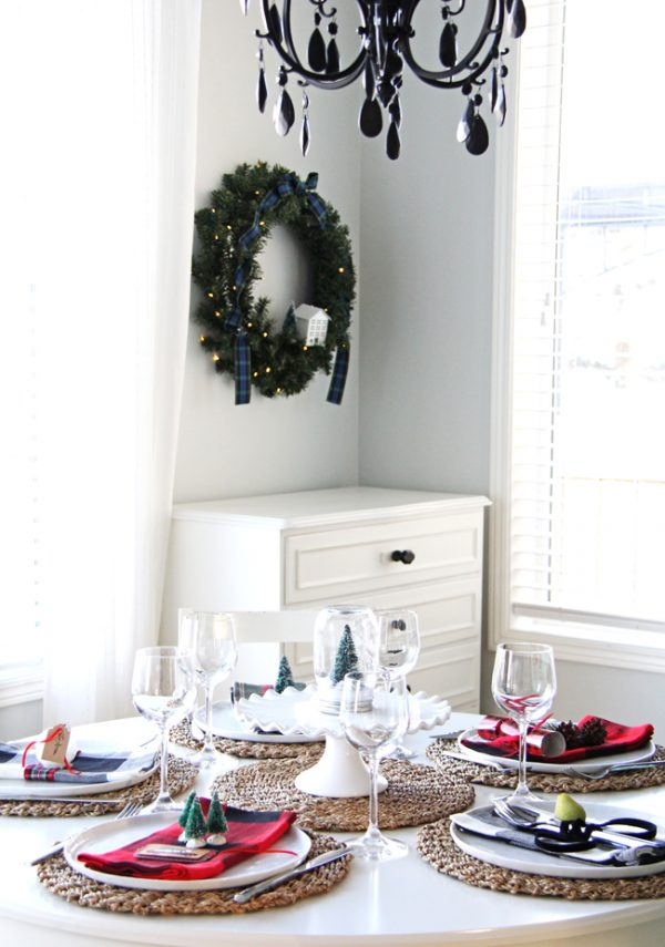 Popular Christmas Place Setting Ideas A Pretty Life In The Suburbs Medium