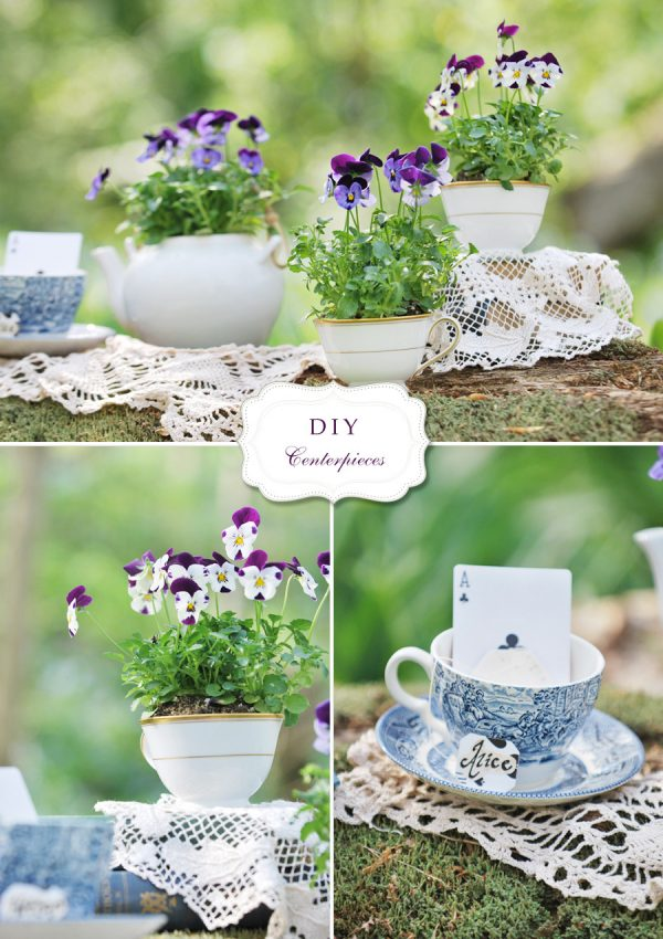 Simply Diy Flower And Teacup Centerpieces Andrea Dozier Dayton Medium