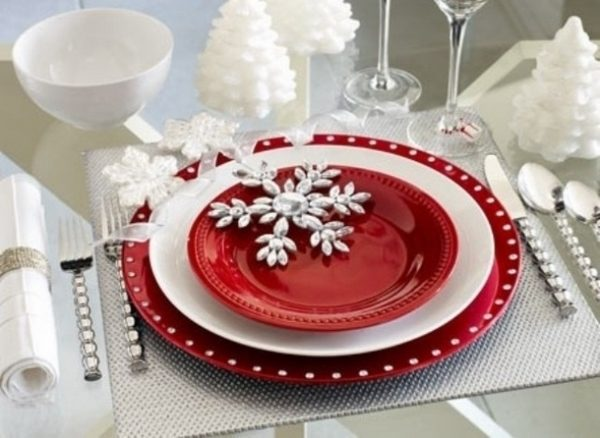 Simply The Best Christmas Table Decorations  55 Ideas For A Medium