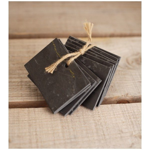 Tips Object Of Desire Slate Plant Markers From France Gardenista