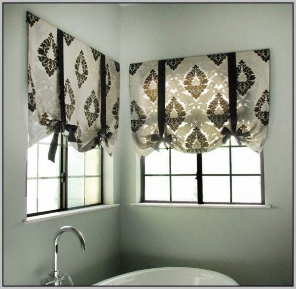 Innovative Tie Up Window Shade Pattern Curtainshome Design Ideas Medium