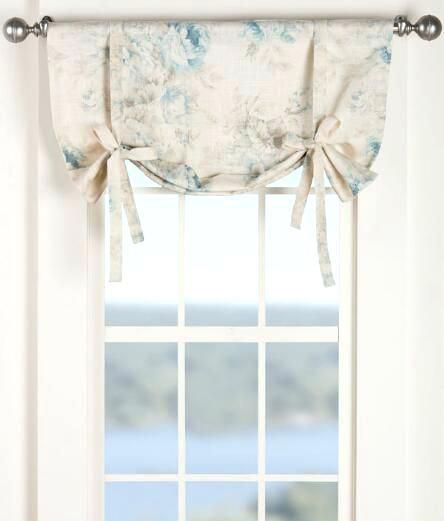Popular Tie Up Valance Curtains Ivory Shade Curtain Pattern  Goodbit Medium