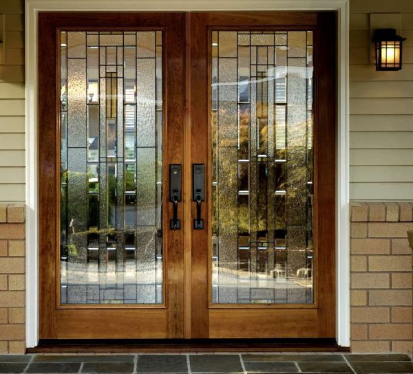 Collection Doors Amazing Double Front Doors With Glass Wood Double Medium