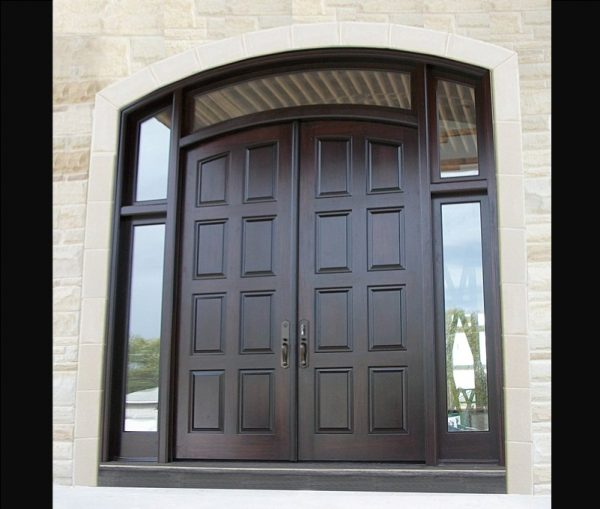 Example Of A Exterior Doors Double Entry Doors Amberwood Doors Inc Medium