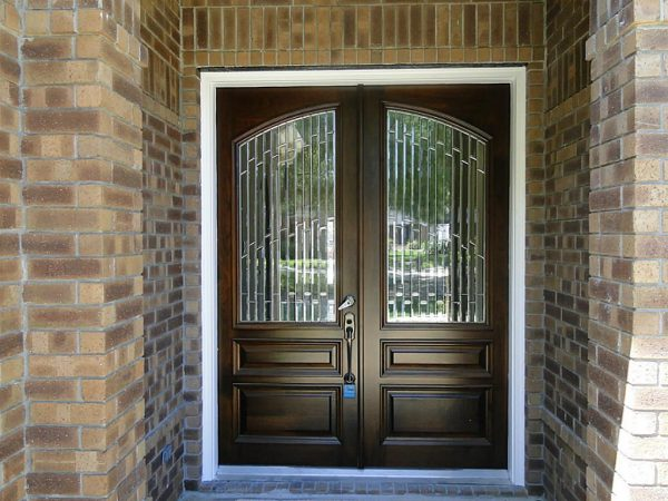 Innovative Mesmerizing Double Front Doors For Homes With Light Oak Medium