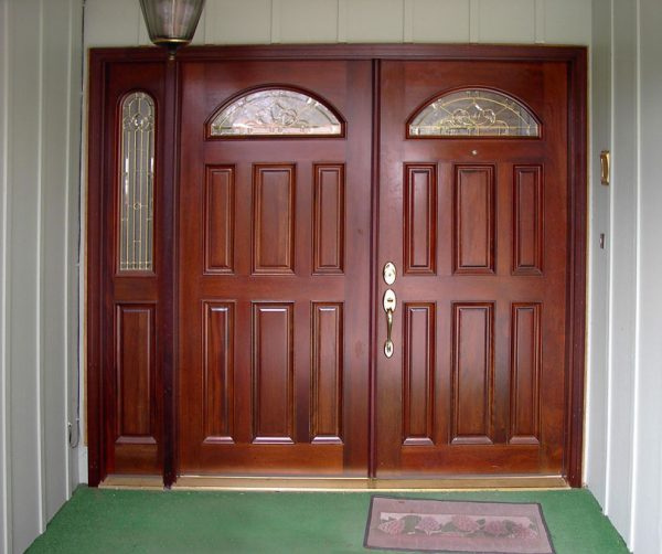 Our Favorite Doors Double Entry Sidelight Artistic Door Design Door Medium