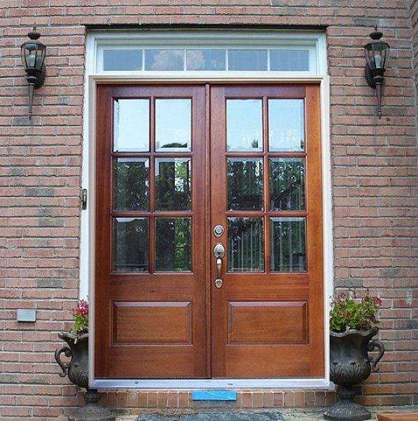 Tips Double Front Doors With Glassof Double Entry Doors Medium