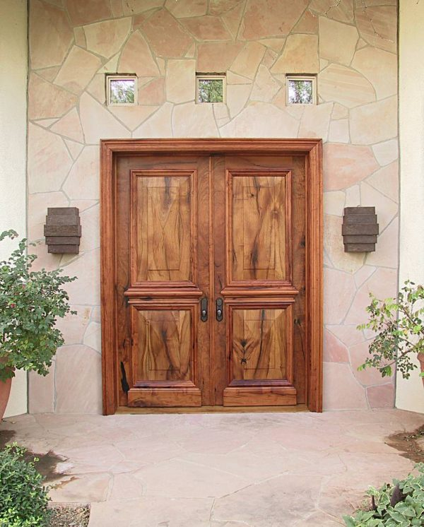 Top Doors Astonishing Double Wood Entry Doors Double Entry Medium