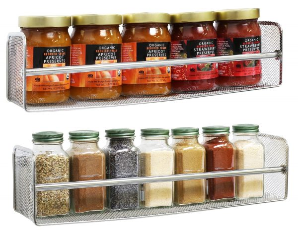 Best RV Spice Rack  Travel Trailer Storage Solutions Medium
