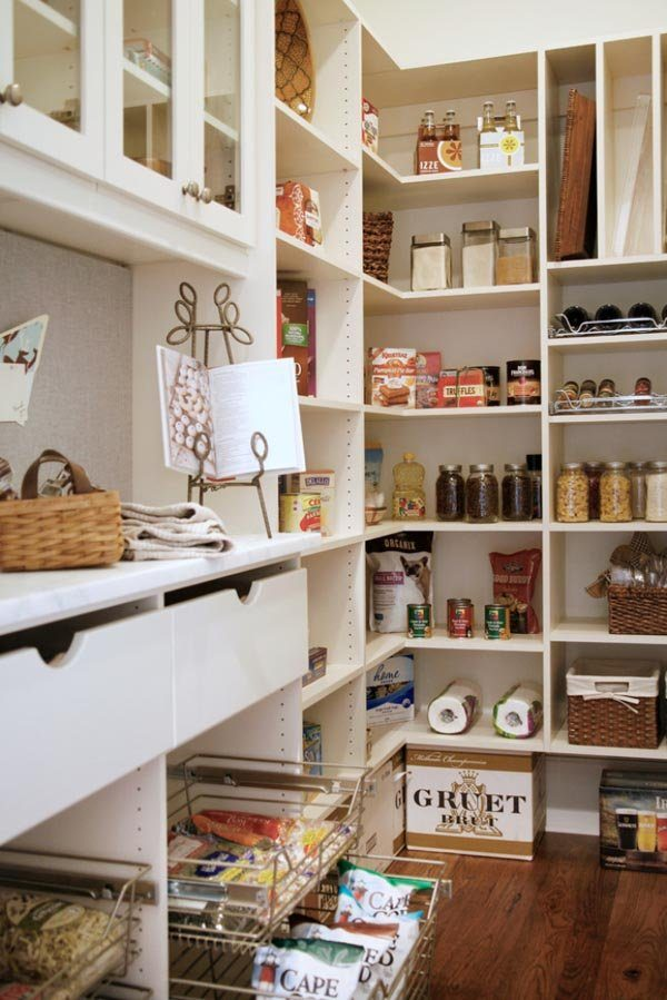 Bore 25 Great Pantry Design Ideas For Your Home Medium