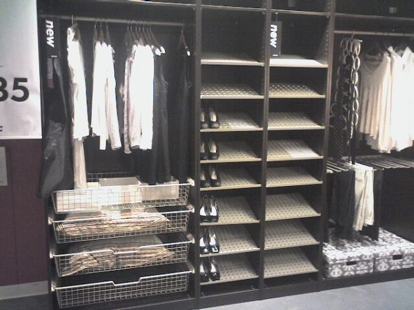 bore ikea closet organizers medium