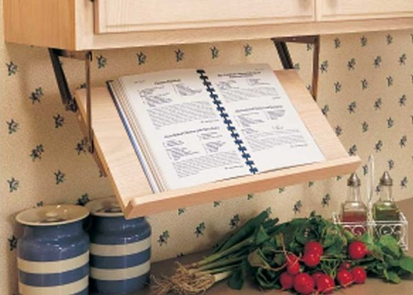 Browse Small Kitchen Ideas With Marvelous Retractable Book Stand Medium