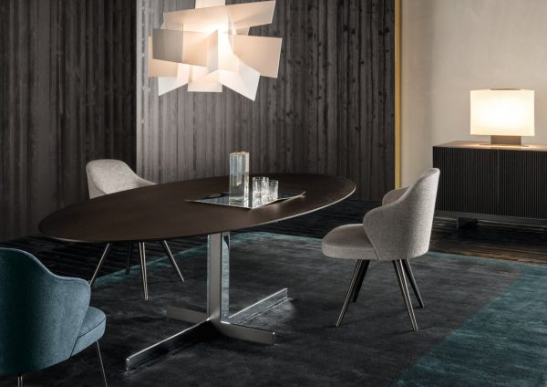 Catlin Dining Table By Minotti ECC Medium