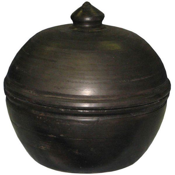 Chinese Cooking Pot Tansu Design Medium