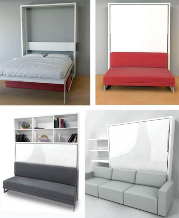 Clever Murphy Bed Over Sofa7 Genious Affordable Designs You
