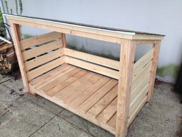 Collection Scrap Wood Storage Bin Plans Woodworking Projects   Plans Medium
