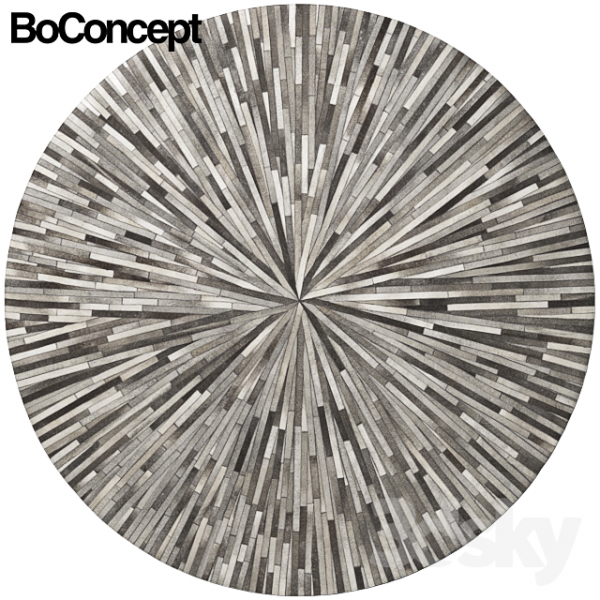 Creative 3d Models Carpets Carpet Boconcept Dimas Rug Medium