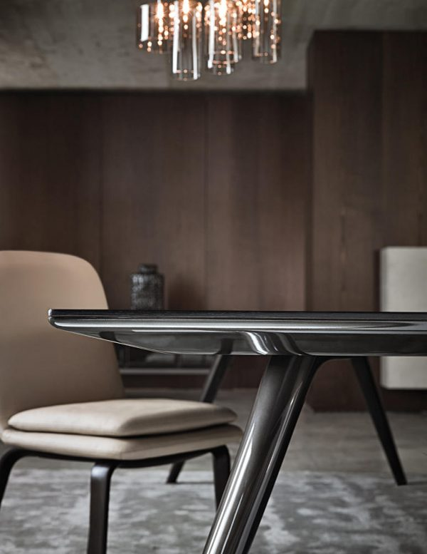 Elegant EVANS Dining Tables From Minotti Architonic Medium