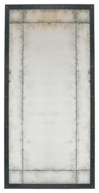 Example Of A Lillian August Rex Mirror La9734101 Modern Wall Medium