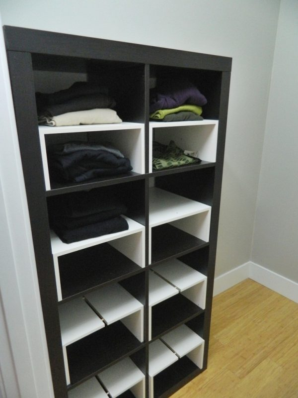 Explore Little Corner House Ikea Hack Expedit Inserts For The Closet Medium