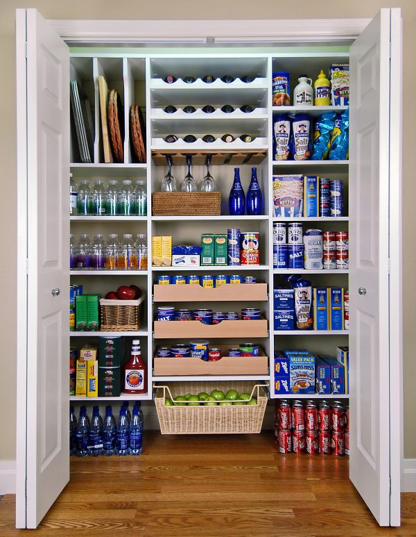 Fresh Pantry Makeover With Easy Custom Diy Shelving From Medium