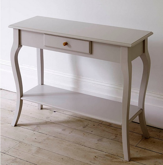 fresh white tall hallway table design with drawerhome interiors