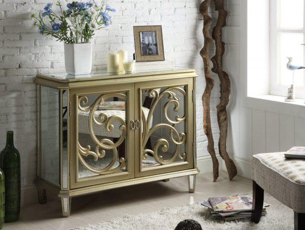 Get Innovative Furniture Stylish Mirrored Bedroom Furniture Set Design Medium