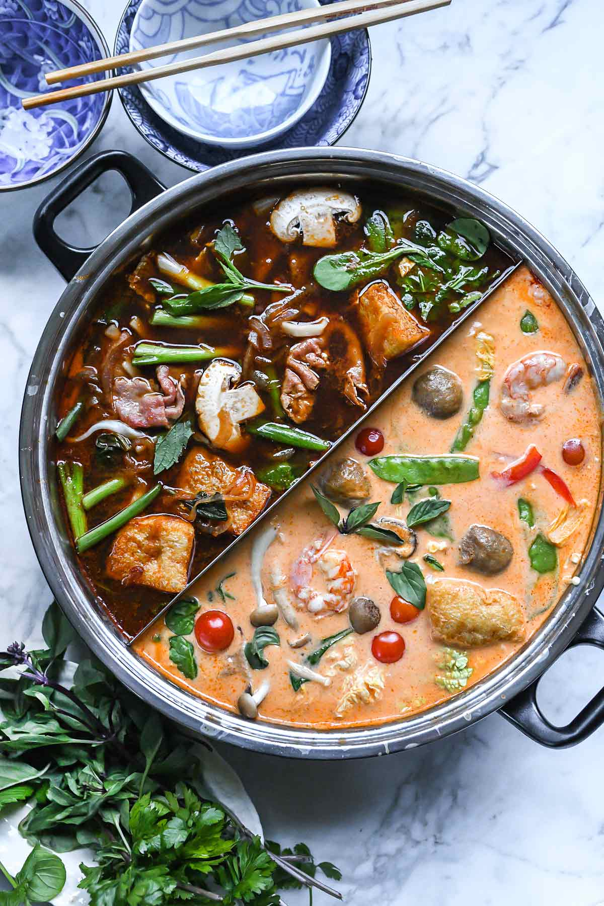 how to make an easy asian hot pot foodiecrushcom