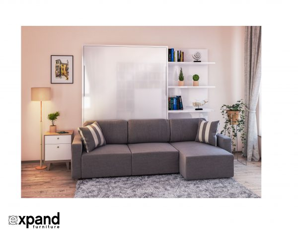 Innovative Clean Murphysofa Sectional Wall Bedexpand Furniture Medium