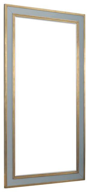 Innovative Lillian August Eldon Floor Mirror Transitional Floor Medium