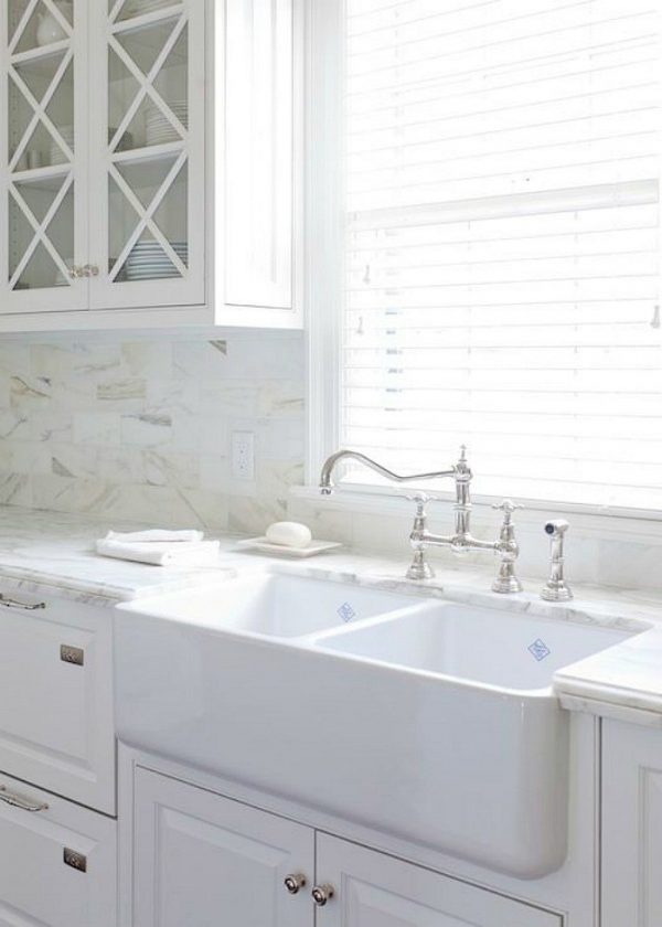 Inspiration 25 Gorgeous Kitchens With Farmhouse Sinks Connecticut In Medium