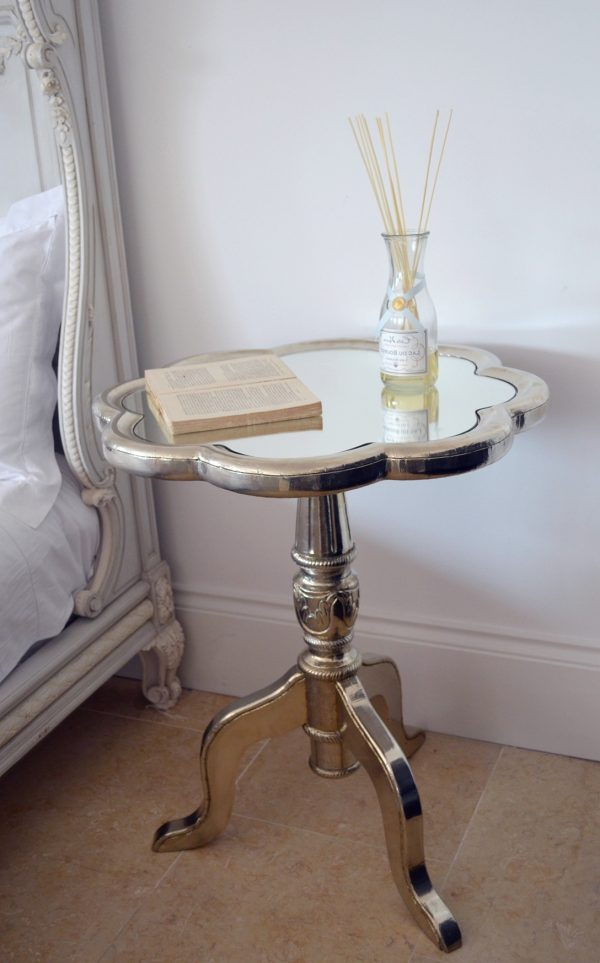 Mirrored Bedside Table Cheaphome Design Ideas Medium