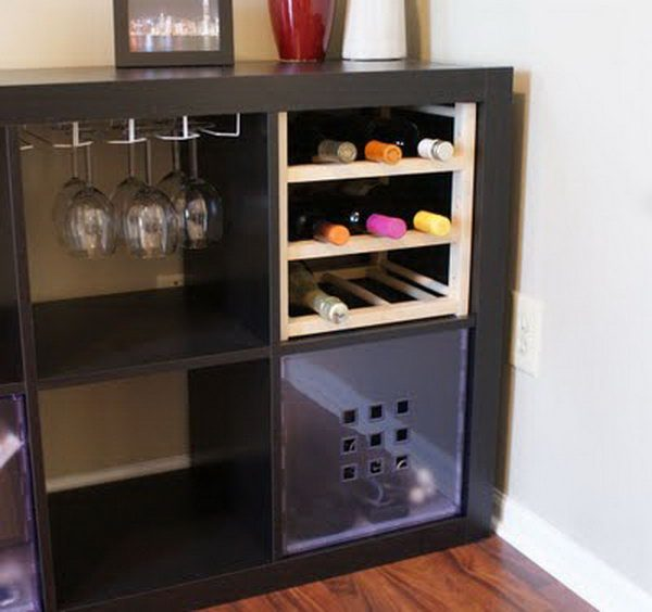 Our Favorite 25  Ikea Kallax Or Expedit Shelf Hacks Hative Medium