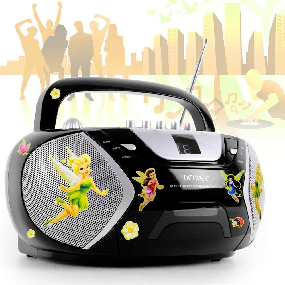 perfect camping music system portable stereo radio cd player