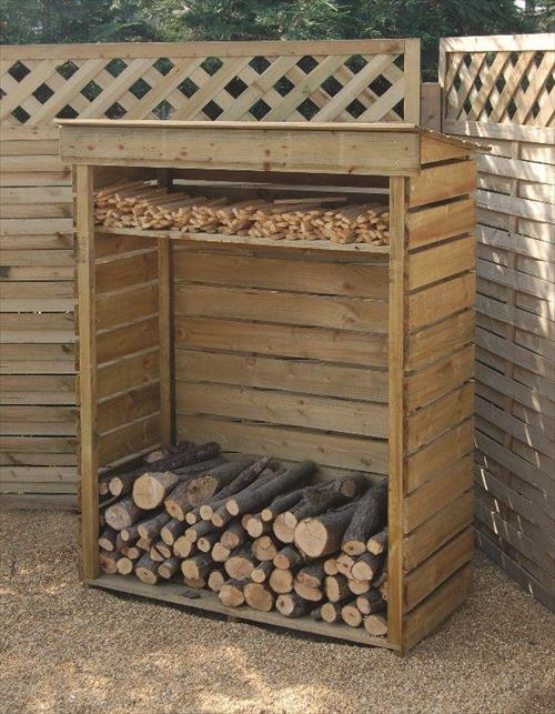 Perfect Pallet Wood Shed Ideaspallets Designs Medium