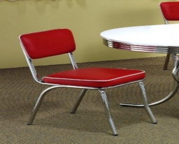 Perfect Retro Chairs Cheap Retro Chrome Dining Chairs Cheap Red Medium