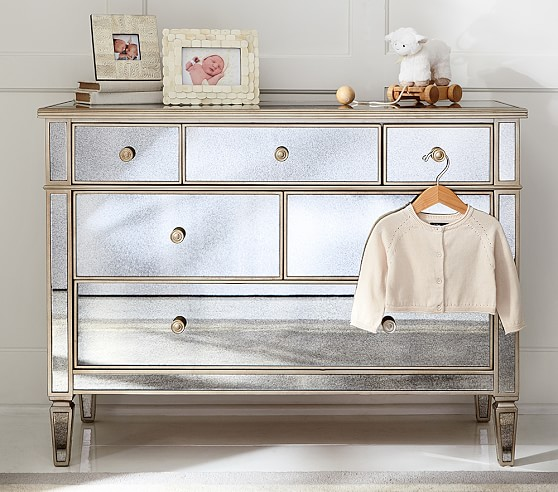 Perfect Simply Mirrored Dresserpottery Barn Kids Medium