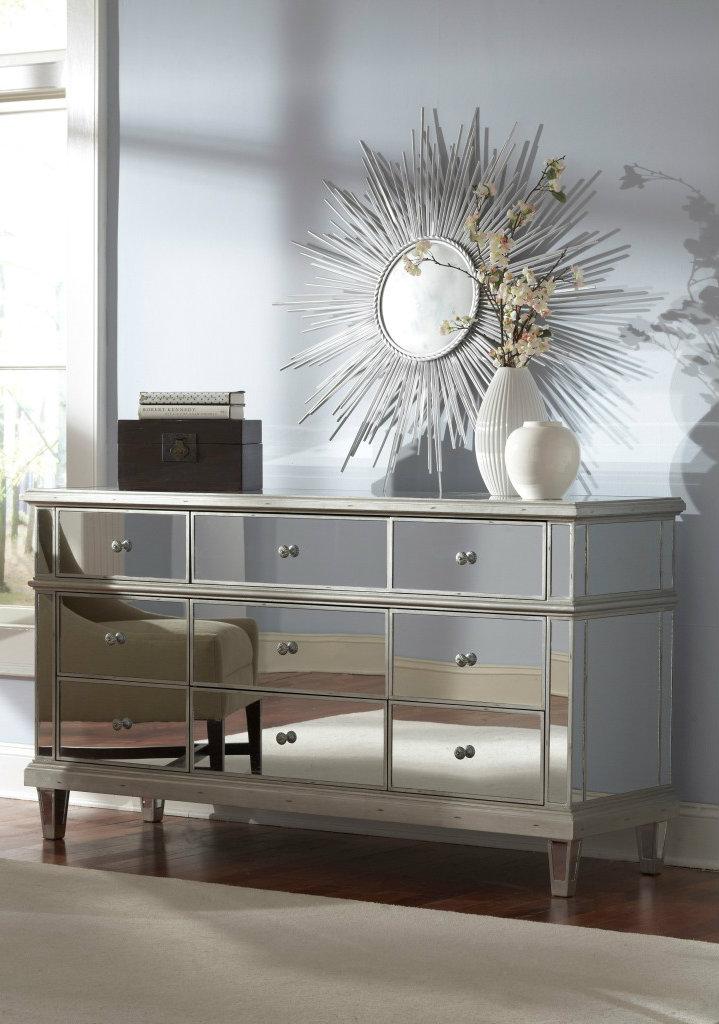 popular innovative mirrored furniture for a modern interior designhome