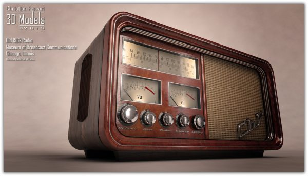 Search Old Radio 3d Max Medium