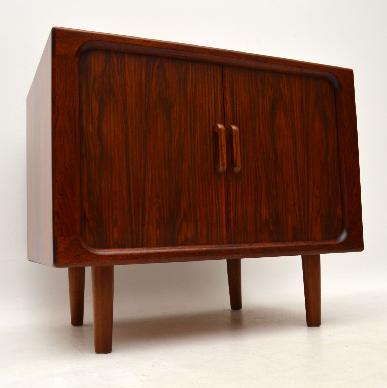 simply 1960s vintage danish rosewood tv cabinet   sideboard
